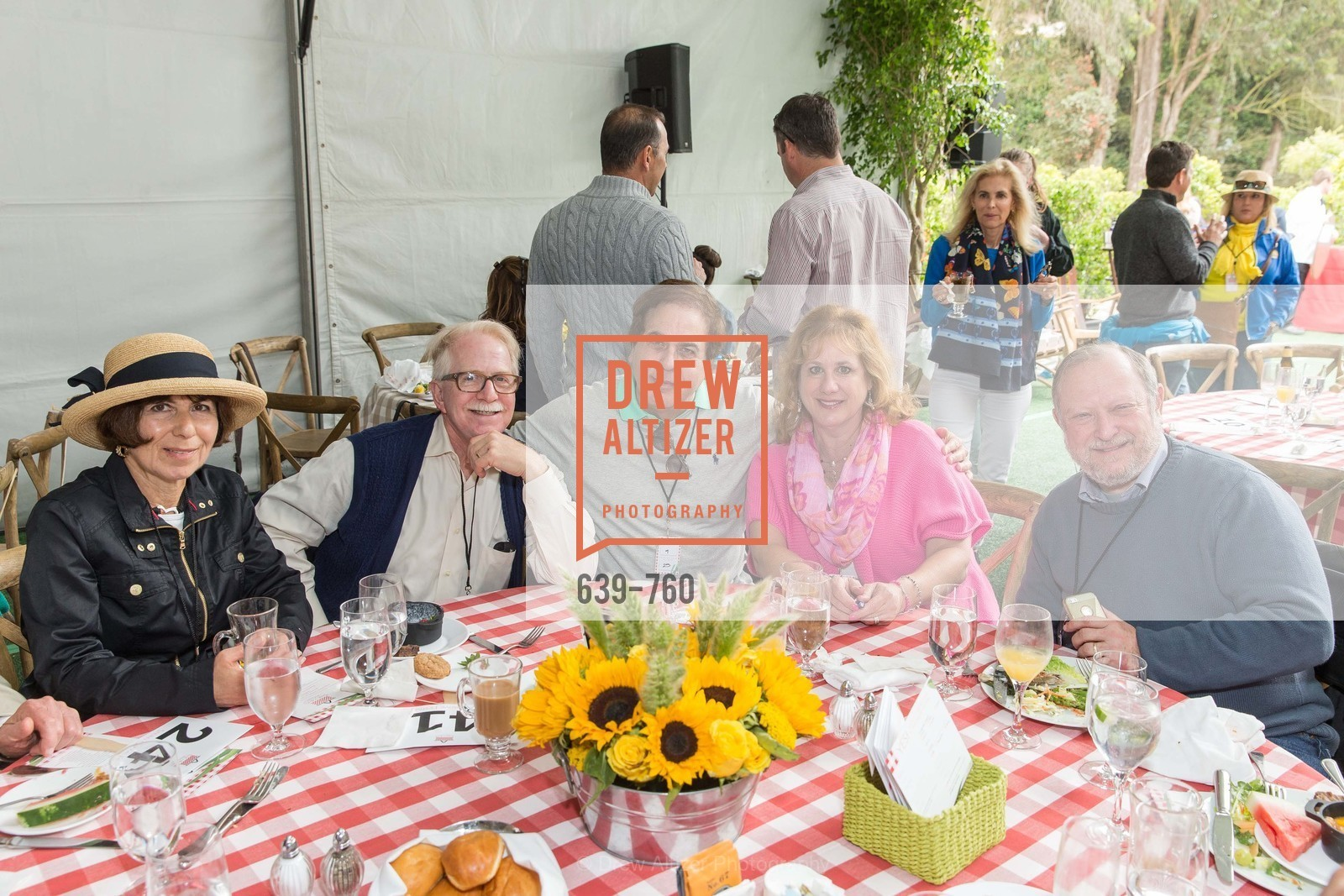 Jan Newman, Bob Newman, Jerry Mendelsohn, Michele Mendelsohn, Jon Benjamin, The Big Picnic! A Benefit & Concert for STERN GROVE FESTIVAL, US, June 14th, 2015,Drew Altizer, Drew Altizer Photography, full-service agency, private events, San Francisco photographer, photographer california
