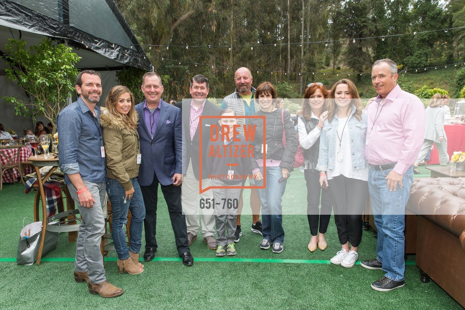 Beau Roy, Shannon Blunden, Mike Genoshe, Alan Morrell, Tim Morrell, John Mino, Terri Mino, Theresa Spirz, Kelsey Spirz, Carl Spirz, The Big Picnic! A Benefit & Concert for STERN GROVE FESTIVAL, US, June 14th, 2015,Drew Altizer, Drew Altizer Photography, full-service agency, private events, San Francisco photographer, photographer california