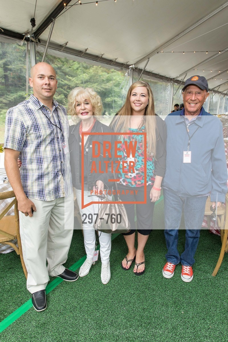 Chris Romero, Lea Orwitz, Amanda Ramiro, Allen Horowitz, The Big Picnic! A Benefit & Concert for STERN GROVE FESTIVAL, US, June 14th, 2015,Drew Altizer, Drew Altizer Photography, full-service agency, private events, San Francisco photographer, photographer california