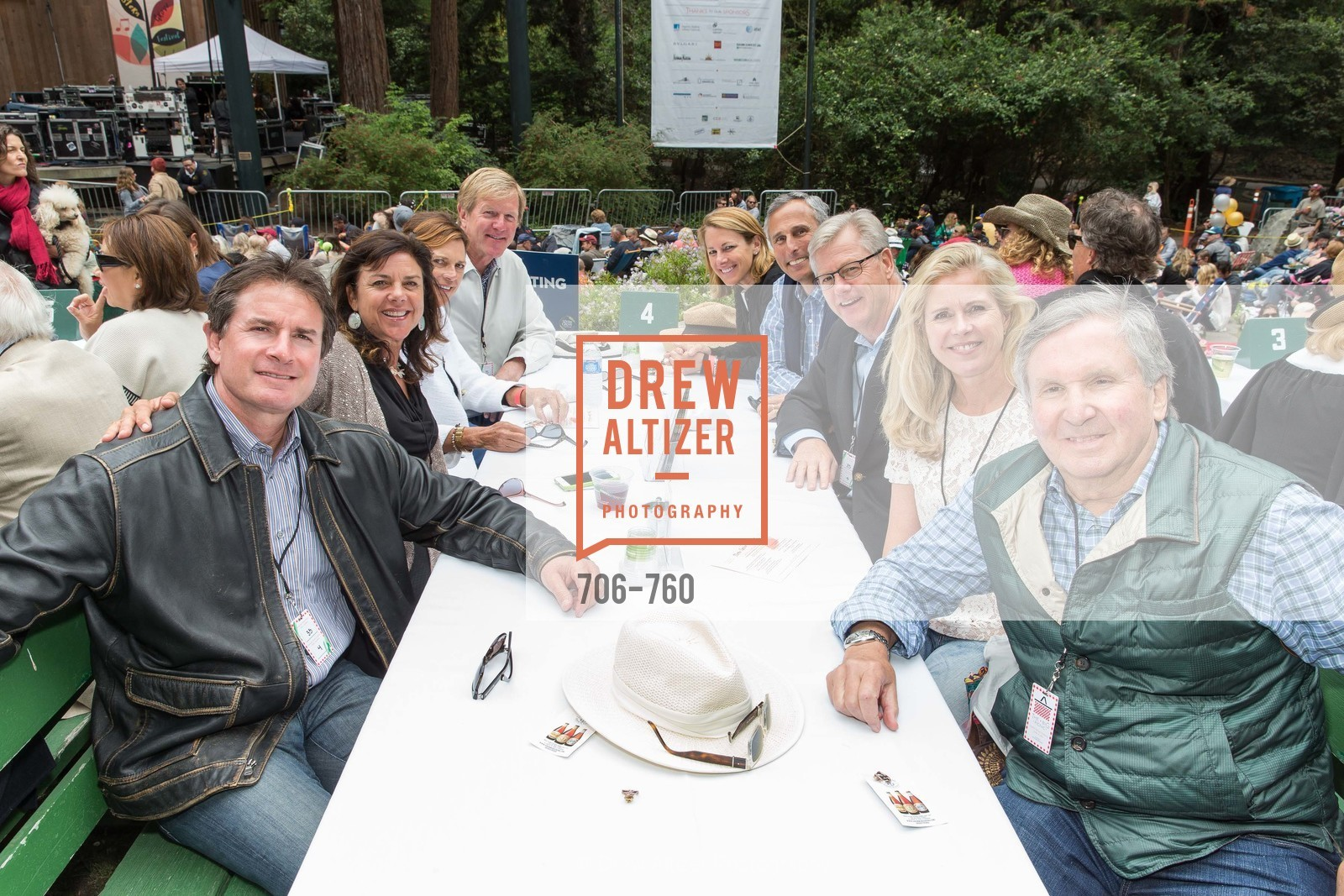 Larry Solomon, Connie Ring, Lisa Troedson, Jack Troedson, Bill Ring, Shawn Byers, Brook Byers, The Big Picnic! A Benefit & Concert for STERN GROVE FESTIVAL, US, June 14th, 2015,Drew Altizer, Drew Altizer Photography, full-service agency, private events, San Francisco photographer, photographer california