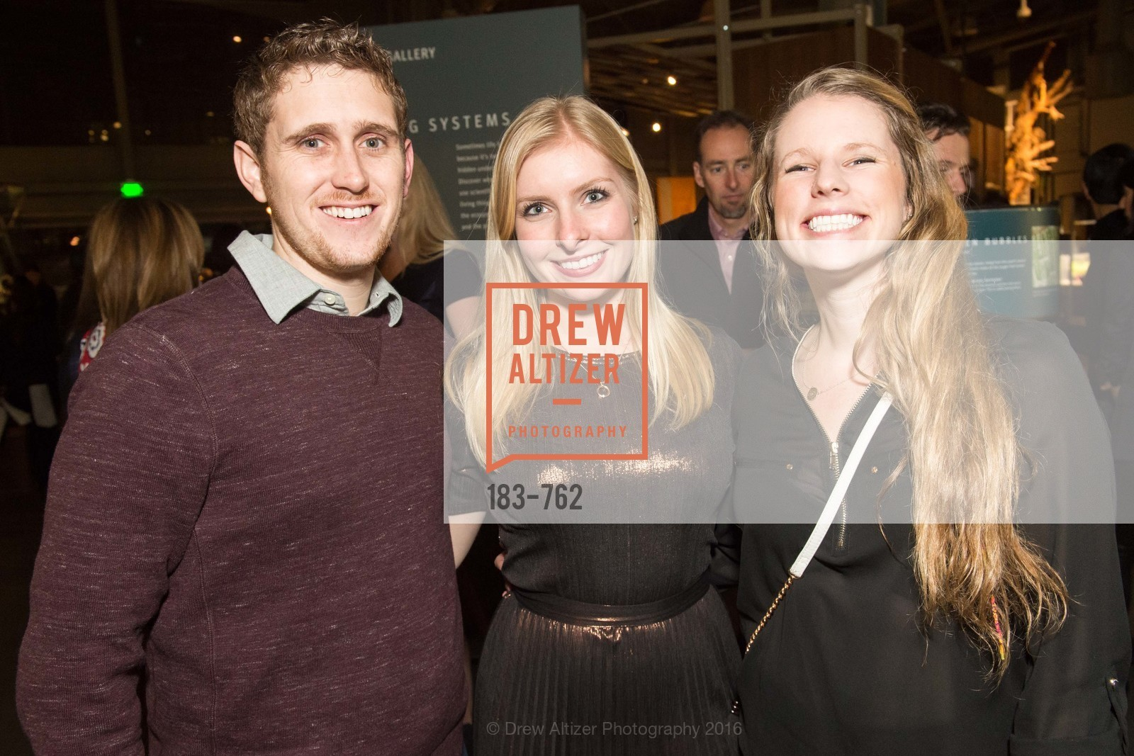 Tom Burke, Sophia Monroe, Eileen Smith, The 2016 Exploratorium Science of Cocktails, Exploratorium. Pier 15, January 22nd, 2016,Drew Altizer, Drew Altizer Photography, full-service agency, private events, San Francisco photographer, photographer california