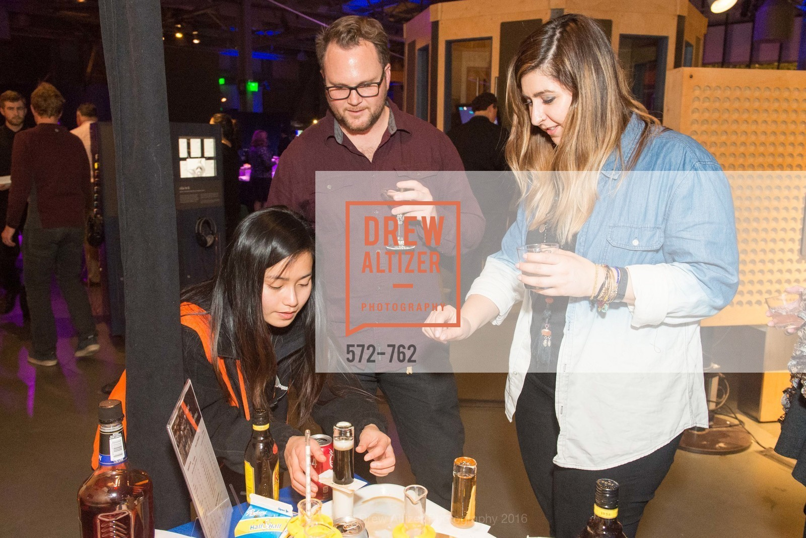 Sally Tang, Todd Engel, Laura Mikkhah, The 2016 Exploratorium Science of Cocktails, Exploratorium. Pier 15, January 22nd, 2016,Drew Altizer, Drew Altizer Photography, full-service agency, private events, San Francisco photographer, photographer california