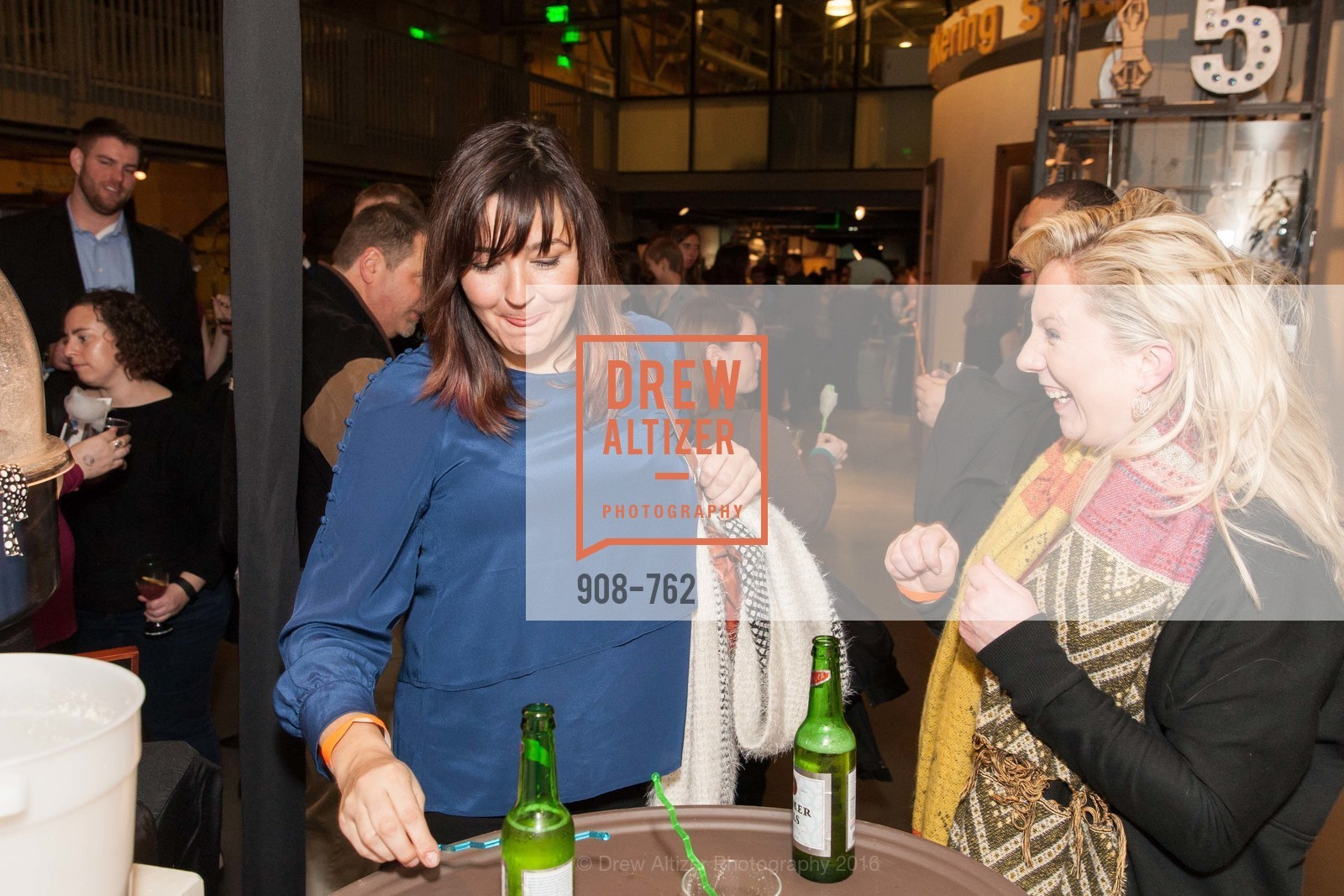 Jessica Maria, Tabatha Mohn, The 2016 Exploratorium Science of Cocktails, Exploratorium. Pier 15, January 22nd, 2016,Drew Altizer, Drew Altizer Photography, full-service agency, private events, San Francisco photographer, photographer california