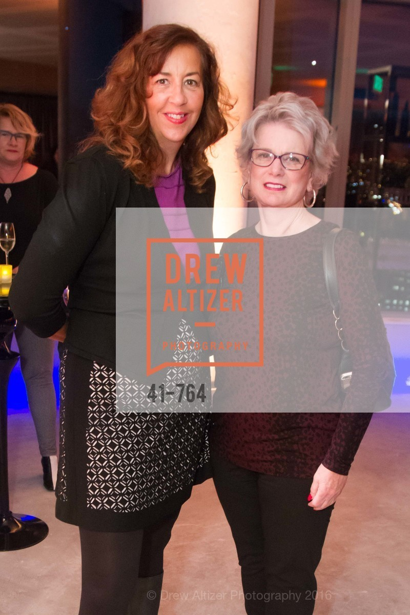 Patricia Wilson, Judi Rees, LUMINA and The Bay Lights Reillumination Celebration, LUMINA. Penthouses 36A and 36B, January 26th, 2016,Drew Altizer, Drew Altizer Photography, full-service agency, private events, San Francisco photographer, photographer california