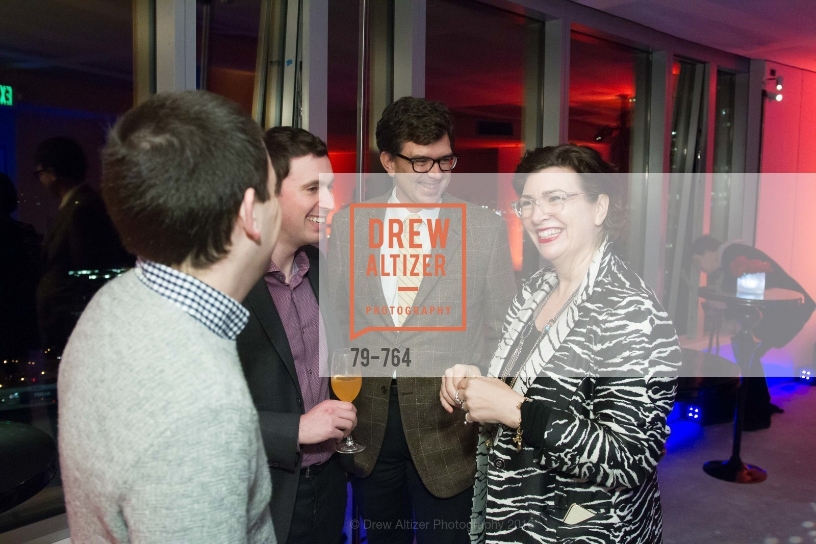 Seth Mickenberg, Alfredo Silva, Paul Jahn, Amy Critchett, LUMINA and The Bay Lights Reillumination Celebration, LUMINA. Penthouses 36A and 36B, January 26th, 2016,Drew Altizer, Drew Altizer Photography, full-service agency, private events, San Francisco photographer, photographer california