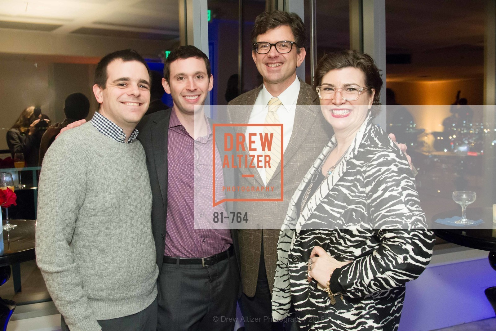 Seth Mickenberg, Alfredo Silva, Paul Jahn, Amy Critchett, LUMINA and The Bay Lights Reillumination Celebration, LUMINA. Penthouses 36A and 36B, January 26th, 2016