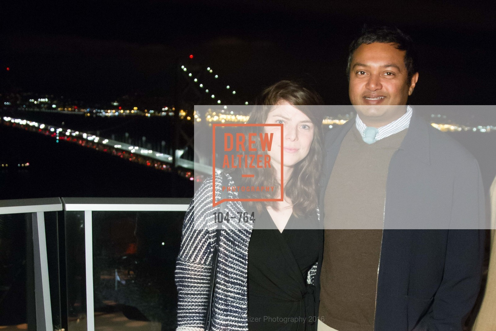 Hilary Klein, Nish Nadaraja, LUMINA and The Bay Lights Reillumination Celebration, LUMINA. Penthouses 36A and 36B, January 26th, 2016,Drew Altizer, Drew Altizer Photography, full-service agency, private events, San Francisco photographer, photographer california