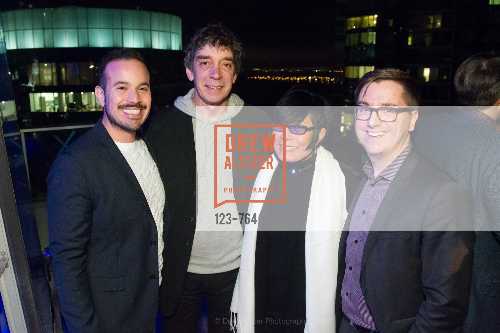Roberto Ordaniana, Scott Miniman, JD Beltran, Tom DeCaigny, LUMINA and The Bay Lights Reillumination Celebration, LUMINA. Penthouses 36A and 36B, January 26th, 2016,Drew Altizer, Drew Altizer Photography, full-service agency, private events, San Francisco photographer, photographer california
