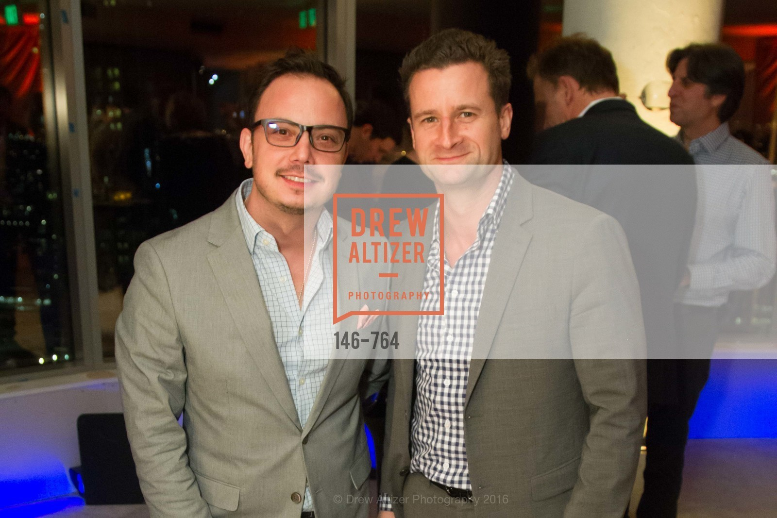 Mauricio Garcia, Tyler Benz, LUMINA and The Bay Lights Reillumination Celebration, LUMINA. Penthouses 36A and 36B, January 26th, 2016,Drew Altizer, Drew Altizer Photography, full-service agency, private events, San Francisco photographer, photographer california