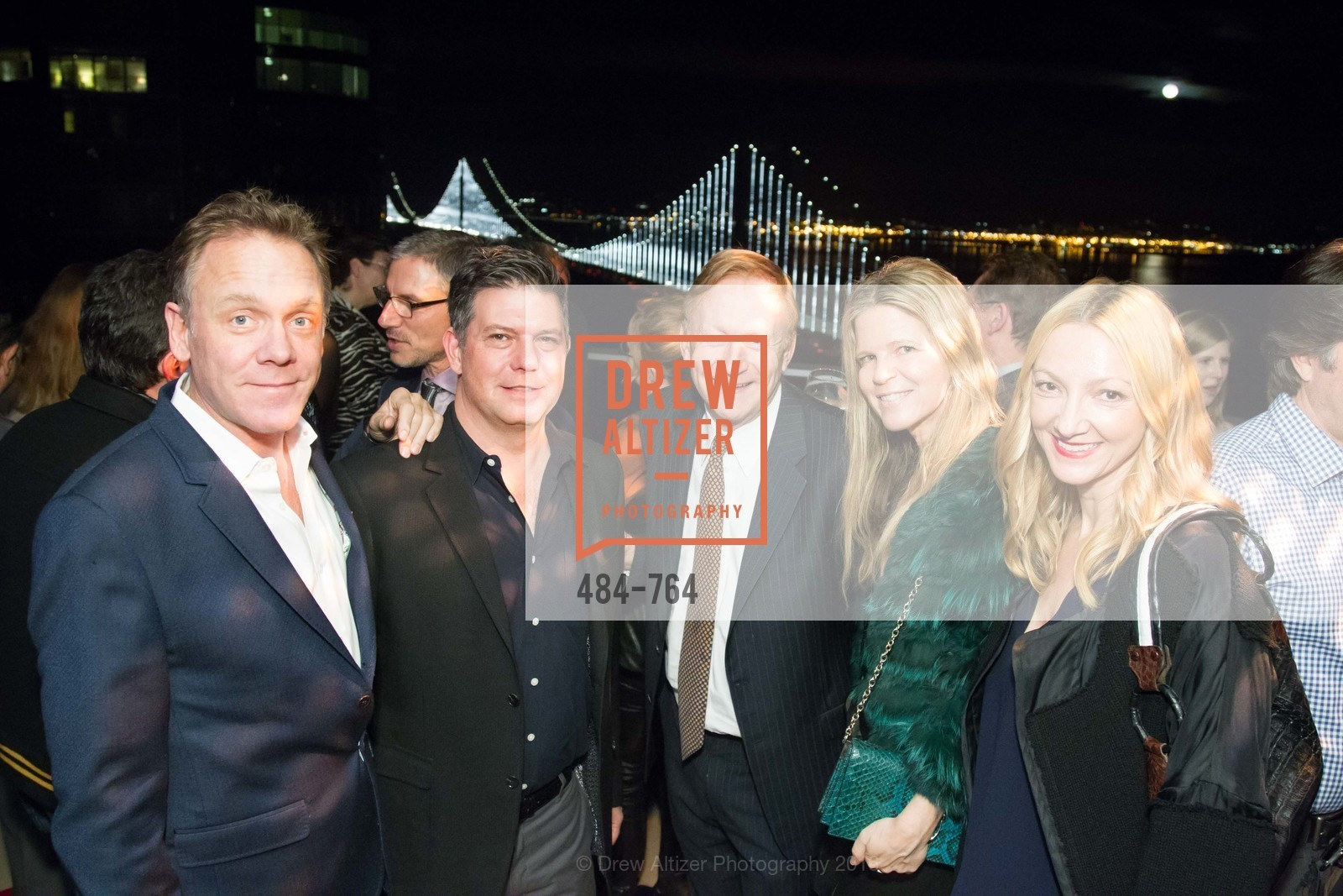 Timothy Childs, Leo Villareal, Carl Shannon, Yvonne Villareal, Inessa Obenhuber, LUMINA and The Bay Lights Reillumination Celebration, LUMINA. Penthouses 36A and 36B, January 26th, 2016,Drew Altizer, Drew Altizer Photography, full-service agency, private events, San Francisco photographer, photographer california