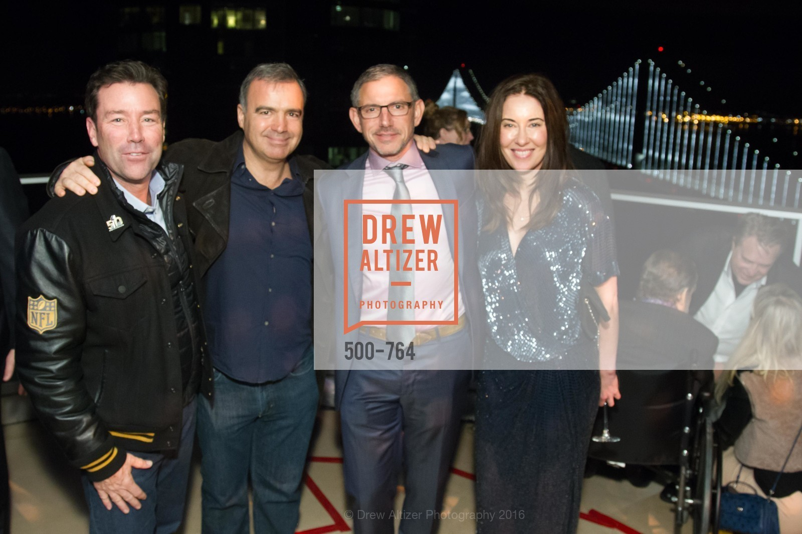 Keith Bruce, JP Conte, Ben Davis, Vanessa Inn, LUMINA and The Bay Lights Reillumination Celebration, LUMINA. Penthouses 36A and 36B, January 26th, 2016,Drew Altizer, Drew Altizer Photography, full-service event agency, private events, San Francisco photographer, photographer California