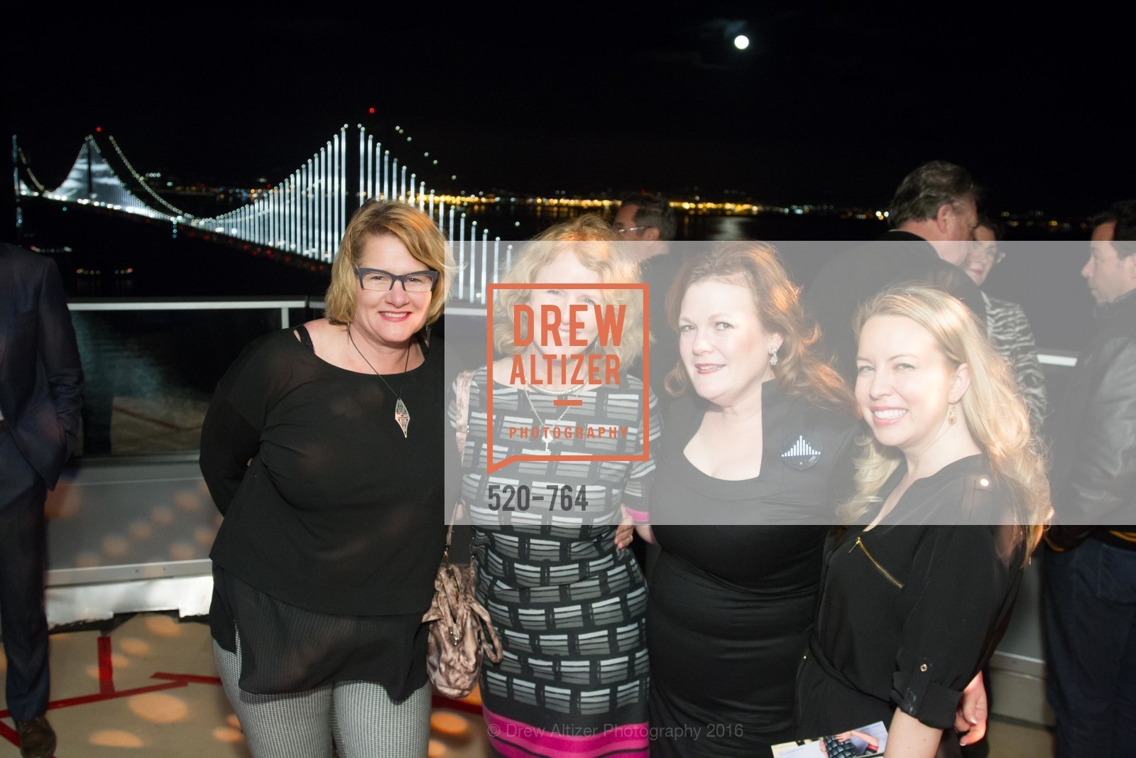 Harley Dubois, Marian Goodell, Jennifer Raiser, Teresa Duncan, LUMINA and The Bay Lights Reillumination Celebration, LUMINA. Penthouses 36A and 36B, January 26th, 2016,Drew Altizer, Drew Altizer Photography, full-service agency, private events, San Francisco photographer, photographer california