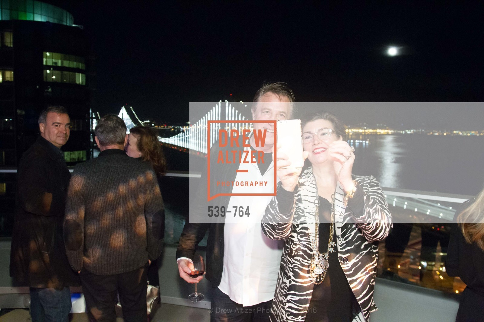 Jon Blaufar, Amy Critchett, LUMINA and The Bay Lights Reillumination Celebration, LUMINA. Penthouses 36A and 36B, January 26th, 2016,Drew Altizer, Drew Altizer Photography, full-service agency, private events, San Francisco photographer, photographer california