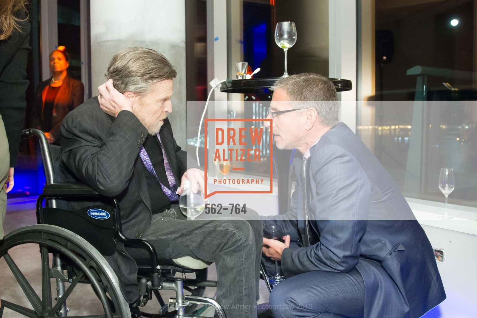 John Perry Barlow, Ben Davis, LUMINA and The Bay Lights Reillumination Celebration, LUMINA. Penthouses 36A and 36B, January 26th, 2016,Drew Altizer, Drew Altizer Photography, full-service agency, private events, San Francisco photographer, photographer california