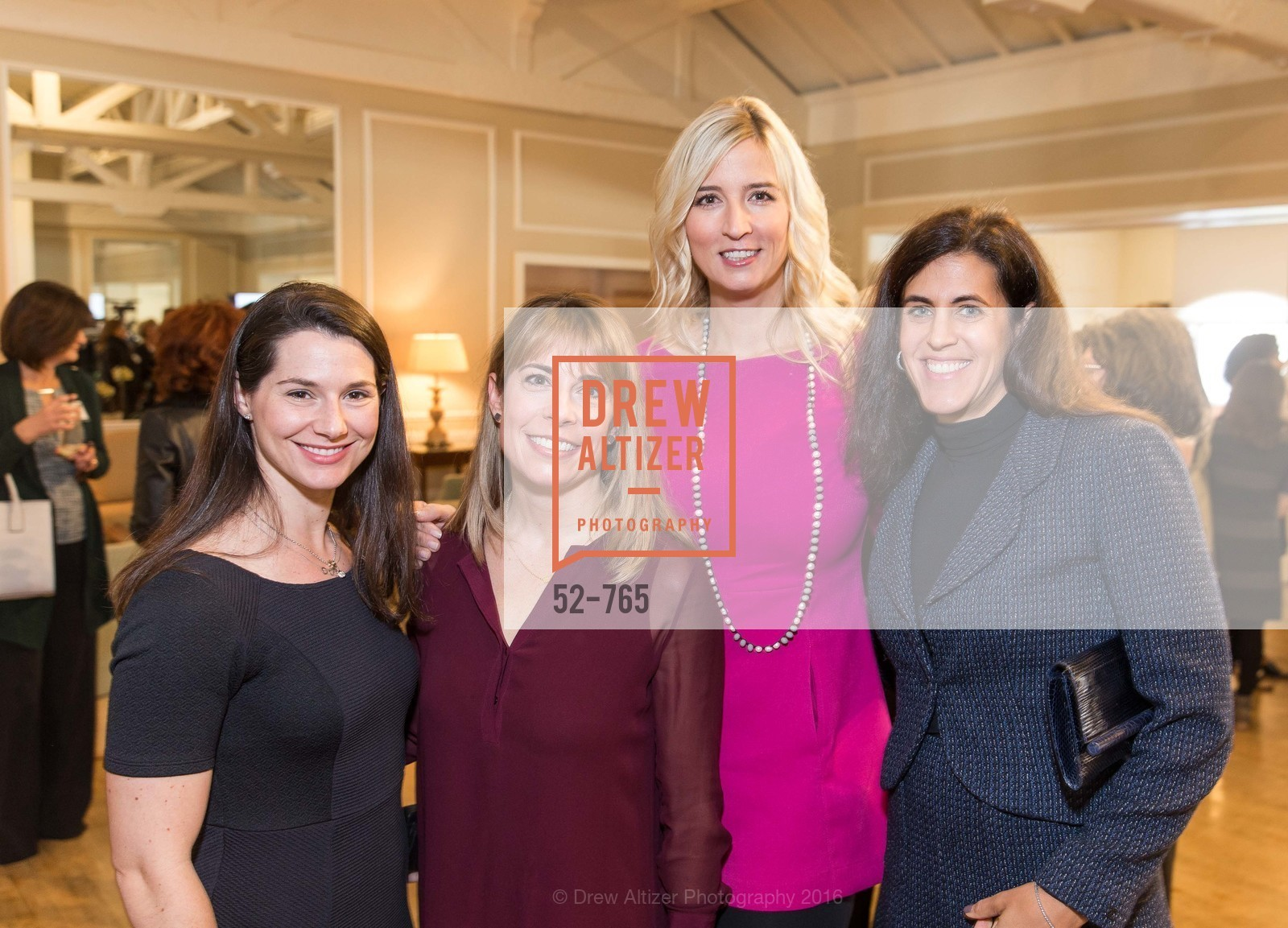 Ashley Flomenberg, Andrea Helft, Monika Cheney, Staci Friesel, Stanford Women's Health Lunch, Menlo Circus Club. 190 Park Lane, January 26th, 2016,Drew Altizer, Drew Altizer Photography, full-service agency, private events, San Francisco photographer, photographer california
