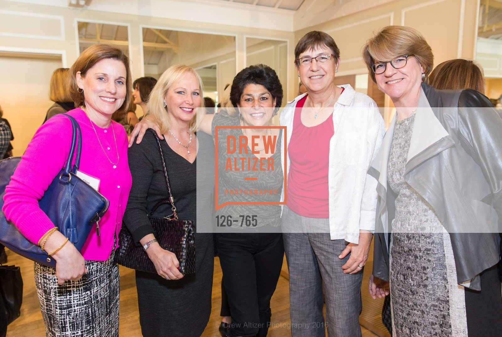 Ellen Spence, Patti Bennett, Ann Ossenberg, Julia Zafferano, Laura Parmer-Lohan, Stanford Women's Health Lunch, Menlo Circus Club. 190 Park Lane, January 26th, 2016,Drew Altizer, Drew Altizer Photography, full-service agency, private events, San Francisco photographer, photographer california