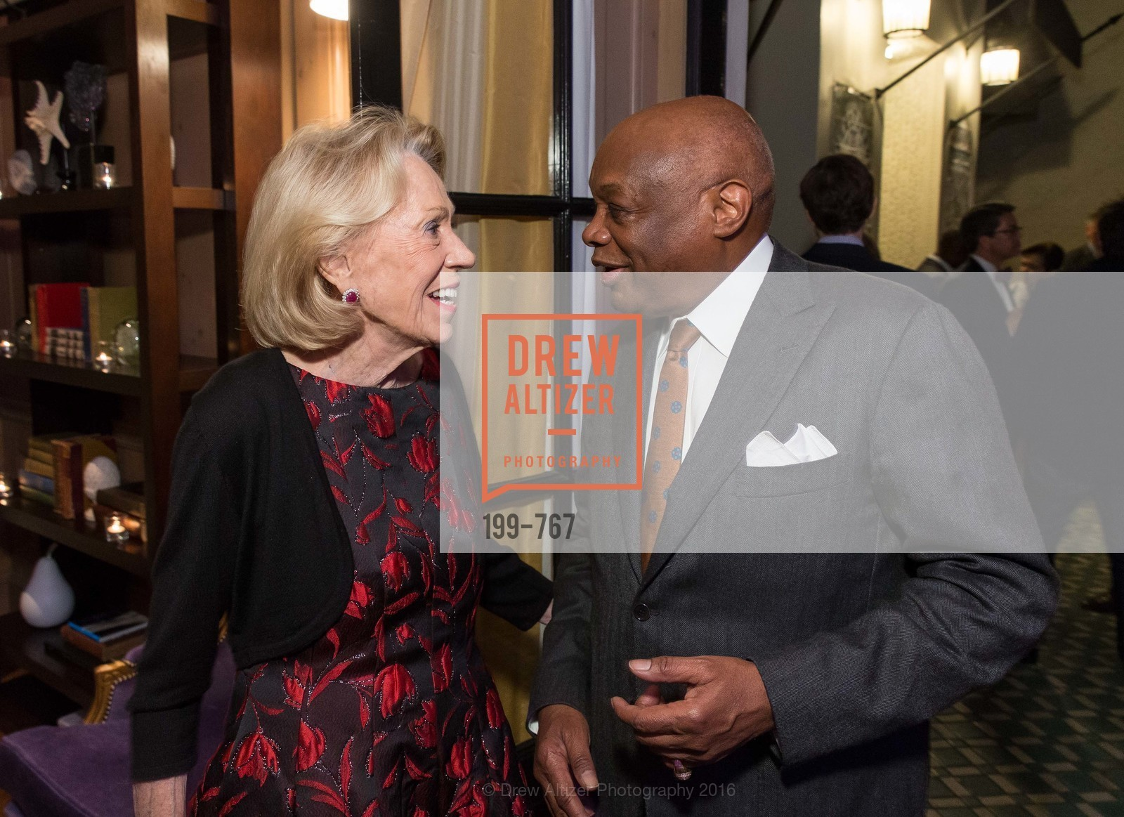 Charlotte Shultz, Willie Brown, A Special Reception with Tony Bennett, The Fairmont, San Francisco, The Penthouse Suite, January 26th, 2016,Drew Altizer, Drew Altizer Photography, full-service agency, private events, San Francisco photographer, photographer california