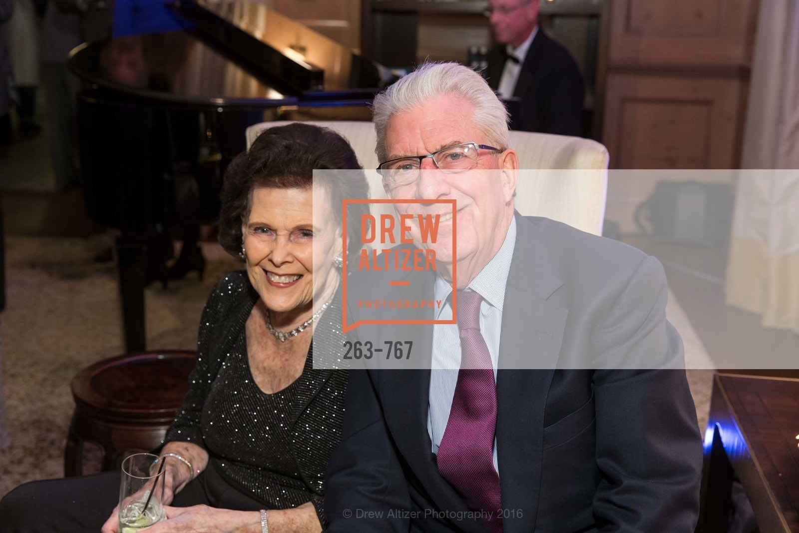 Lucy Jewett, Rich Guggenheim, A Special Reception with Tony Bennett, The Fairmont, San Francisco, The Penthouse Suite, January 26th, 2016,Drew Altizer, Drew Altizer Photography, full-service agency, private events, San Francisco photographer, photographer california