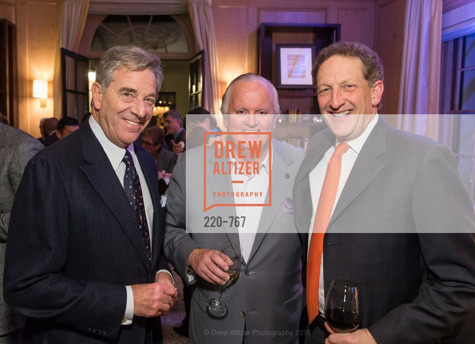 Paul Pelosi, Kevin O'Brien, Larry Baer, A Special Reception with Tony Bennett, The Fairmont, San Francisco, The Penthouse Suite, January 26th, 2016,Drew Altizer, Drew Altizer Photography, full-service agency, private events, San Francisco photographer, photographer california