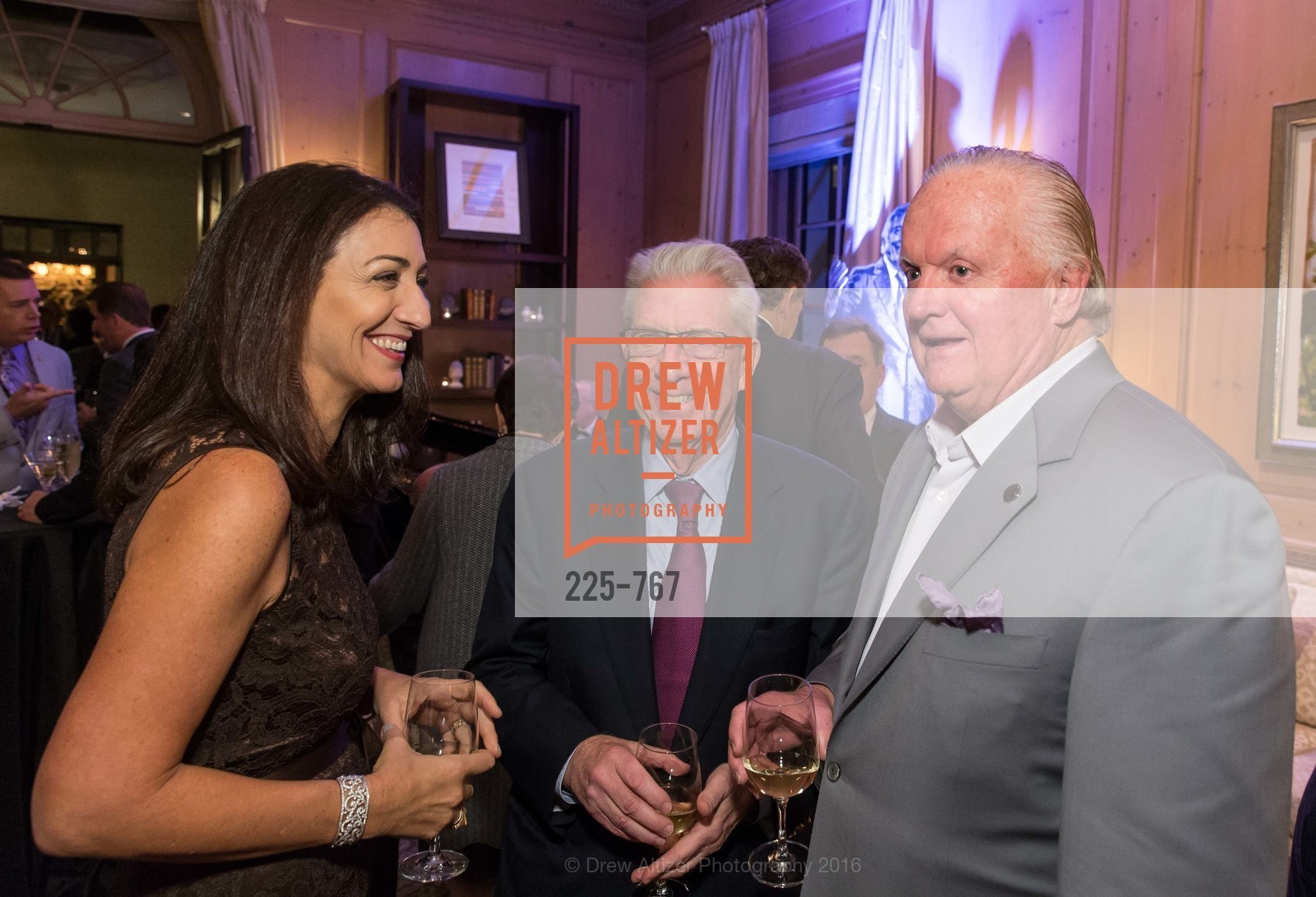 Pam Baer, Rich Guggenhime, Kevin O'Brien, A Special Reception with Tony Bennett, The Fairmont, San Francisco, The Penthouse Suite, January 26th, 2016,Drew Altizer, Drew Altizer Photography, full-service agency, private events, San Francisco photographer, photographer california