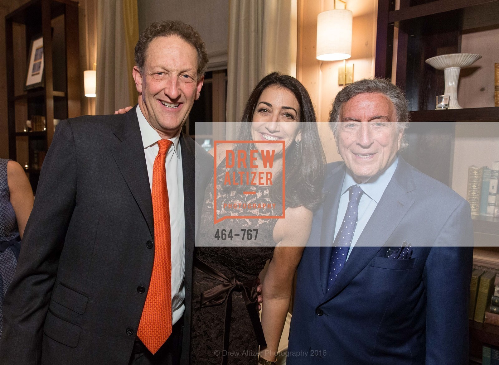 Larry Baer, Pam Baer, Tony Bennett, A Special Reception with Tony Bennett, The Fairmont, San Francisco, The Penthouse Suite, January 26th, 2016,Drew Altizer, Drew Altizer Photography, full-service event agency, private events, San Francisco photographer, photographer California