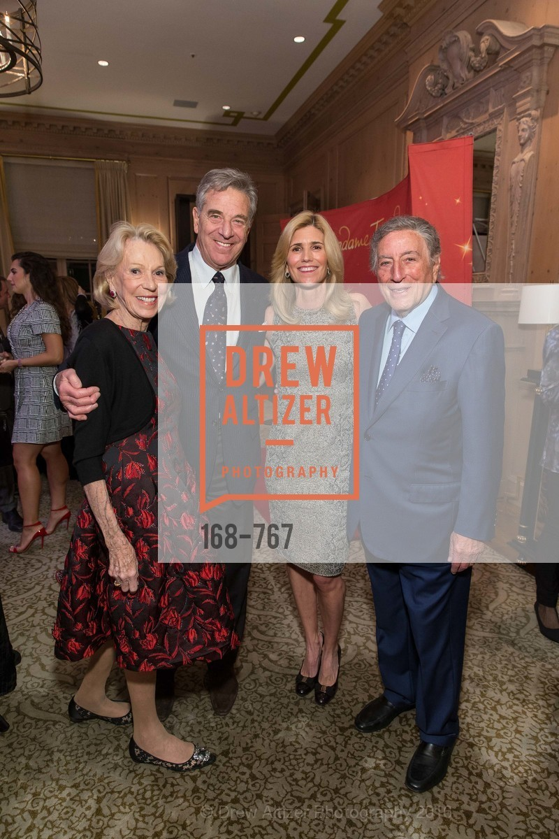 Charlotte Shultz, Paul Pelosi, Susan Benedetto, Tony Bennett, A Special Reception with Tony Bennett, The Fairmont, San Francisco, The Penthouse Suite, January 26th, 2016,Drew Altizer, Drew Altizer Photography, full-service agency, private events, San Francisco photographer, photographer california