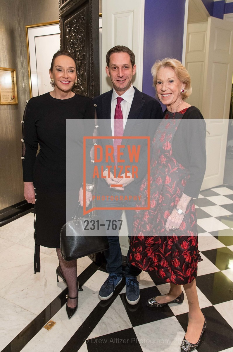Elisa Stephens, Daniel Lurie, Charlotte Shultz, A Special Reception with Tony Bennett, The Fairmont, San Francisco, The Penthouse Suite, January 26th, 2016,Drew Altizer, Drew Altizer Photography, full-service agency, private events, San Francisco photographer, photographer california