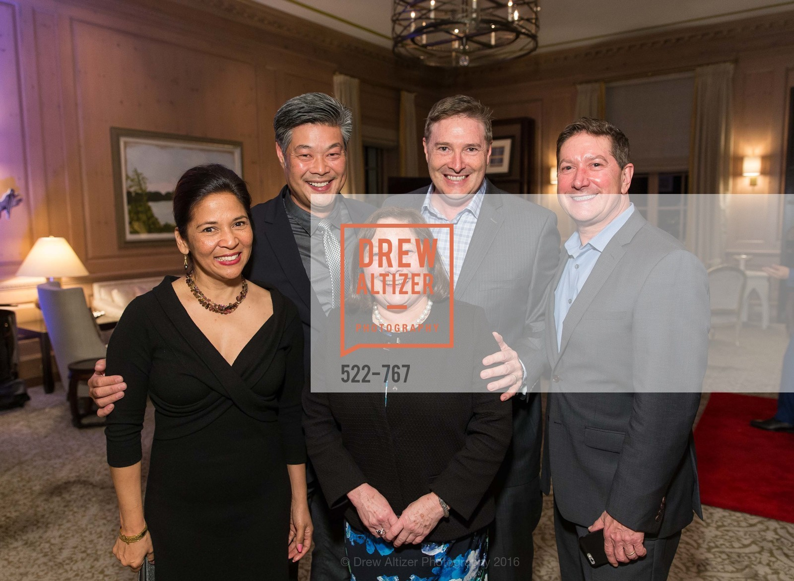 Darlene Fong, Rodney Fong, Martha Cohen, A Special Reception with Tony Bennett, The Fairmont, San Francisco, The Penthouse Suite, January 26th, 2016,Drew Altizer, Drew Altizer Photography, full-service event agency, private events, San Francisco photographer, photographer California
