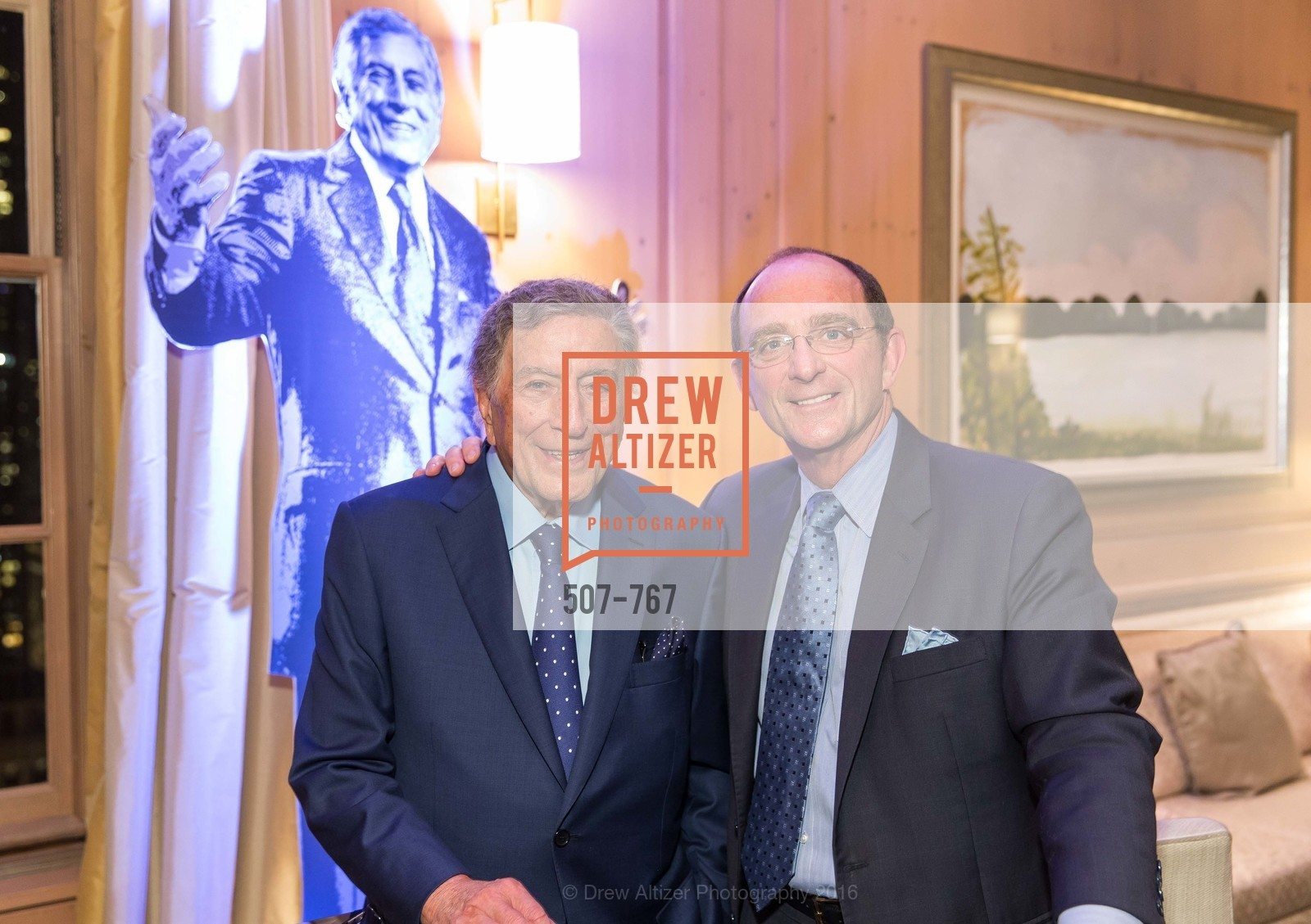 Tony Bennett, Tom Klein, A Special Reception with Tony Bennett, The Fairmont, San Francisco, The Penthouse Suite, January 26th, 2016,Drew Altizer, Drew Altizer Photography, full-service event agency, private events, San Francisco photographer, photographer California