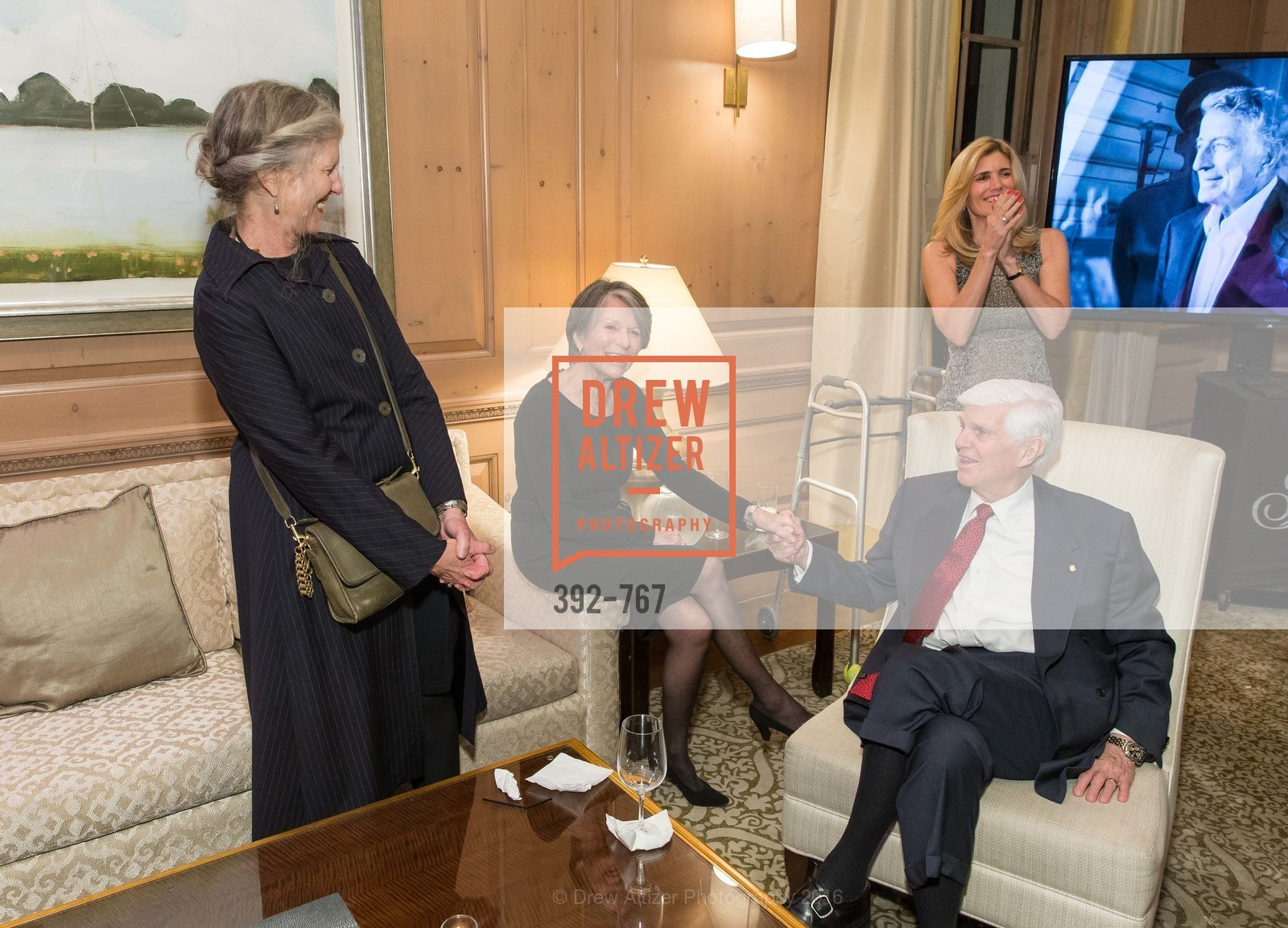Mary Ann Crow, Dayl Crow, Susan Benedetto, A Special Reception with Tony Bennett, The Fairmont, San Francisco, The Penthouse Suite, January 26th, 2016,Drew Altizer, Drew Altizer Photography, full-service agency, private events, San Francisco photographer, photographer california