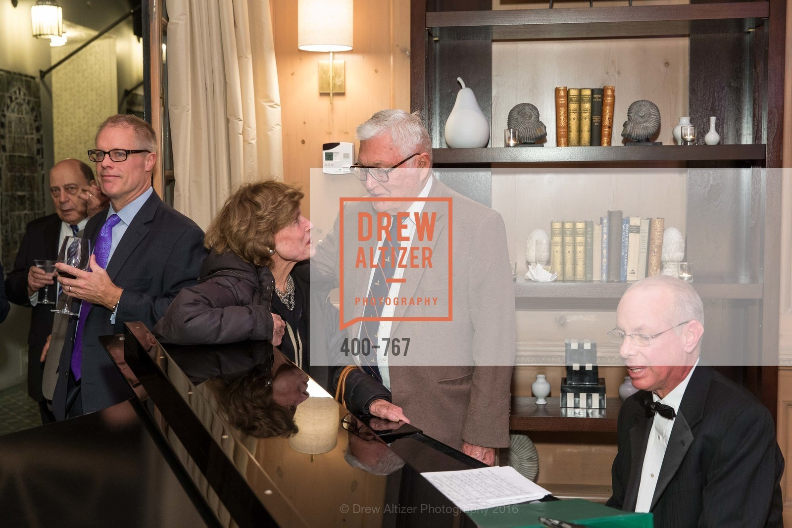 Cathie Johnson, Pitch Johnson, A Special Reception with Tony Bennett, The Fairmont, San Francisco, The Penthouse Suite, January 26th, 2016,Drew Altizer, Drew Altizer Photography, full-service event agency, private events, San Francisco photographer, photographer California