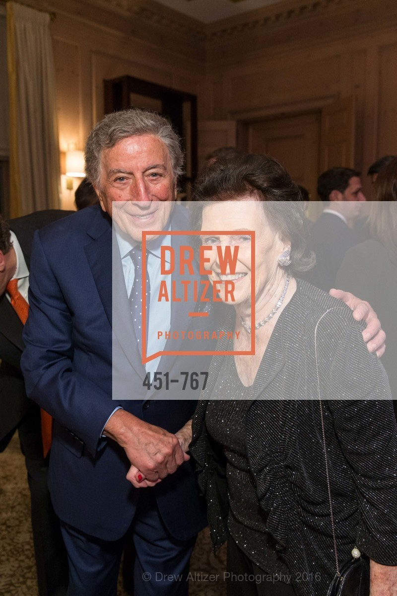 Tony Bennett, Lucy Jewett, A Special Reception with Tony Bennett, The Fairmont, San Francisco, The Penthouse Suite, January 26th, 2016,Drew Altizer, Drew Altizer Photography, full-service agency, private events, San Francisco photographer, photographer california