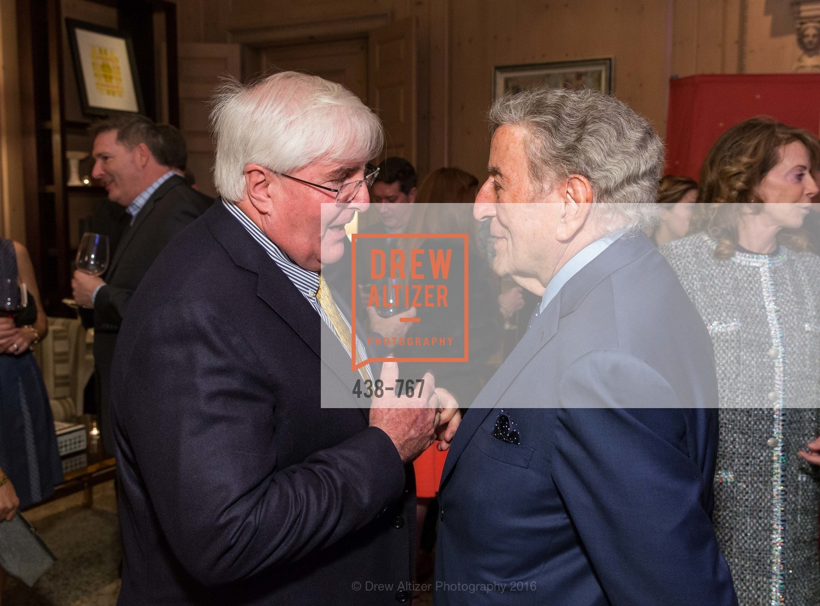 Ron Conway, Tony Bennett, A Special Reception with Tony Bennett, The Fairmont, San Francisco, The Penthouse Suite, January 26th, 2016,Drew Altizer, Drew Altizer Photography, full-service event agency, private events, San Francisco photographer, photographer California