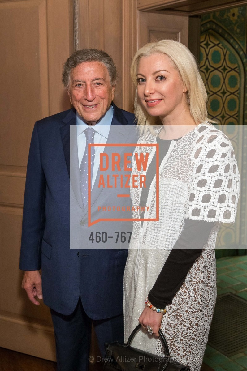 Tony Bennett, Sonya Molodetskaya, A Special Reception with Tony Bennett, The Fairmont, San Francisco, The Penthouse Suite, January 26th, 2016,Drew Altizer, Drew Altizer Photography, full-service agency, private events, San Francisco photographer, photographer california