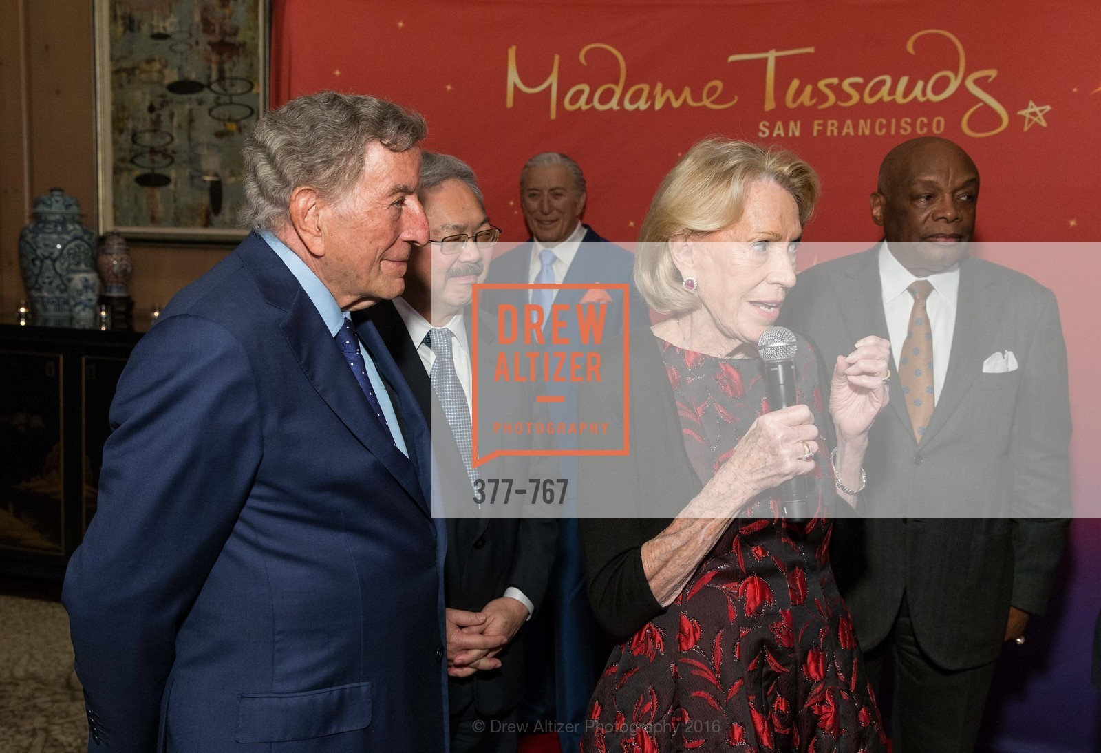 Tony Bennett, Ed Lee, Charlotte Shultz, Willie Brown, A Special Reception with Tony Bennett, The Fairmont, San Francisco, The Penthouse Suite, January 26th, 2016,Drew Altizer, Drew Altizer Photography, full-service agency, private events, San Francisco photographer, photographer california