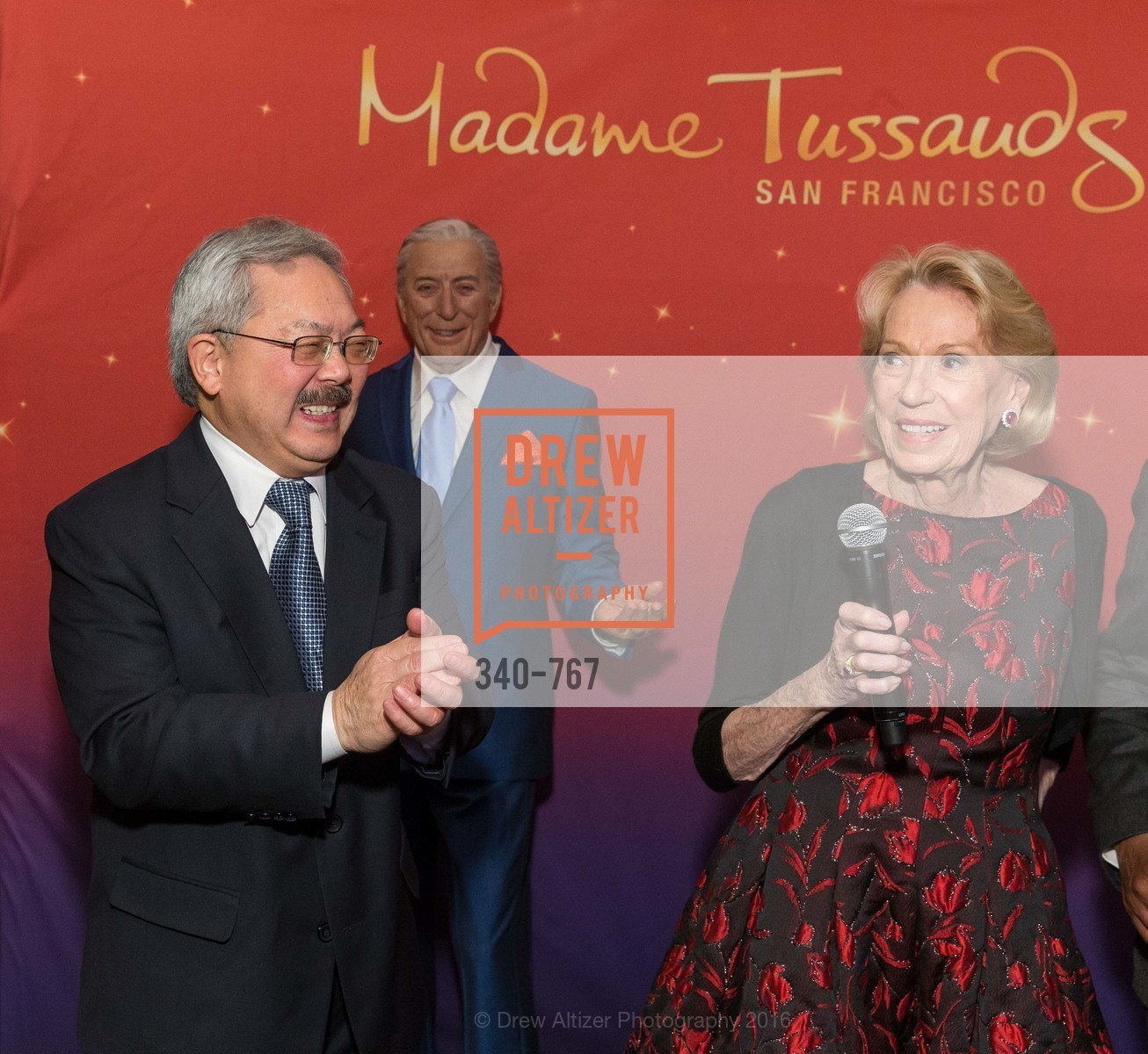 Ed Lee, Charlotte Shultz, A Special Reception with Tony Bennett, The Fairmont, San Francisco, The Penthouse Suite, January 26th, 2016,Drew Altizer, Drew Altizer Photography, full-service event agency, private events, San Francisco photographer, photographer California