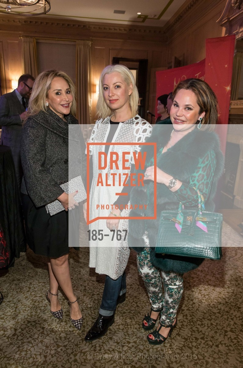 Brenda Zarate, Sonya Molodetskaya, Rada Katz, A Special Reception with Tony Bennett, The Fairmont, San Francisco, The Penthouse Suite, January 26th, 2016,Drew Altizer, Drew Altizer Photography, full-service event agency, private events, San Francisco photographer, photographer California