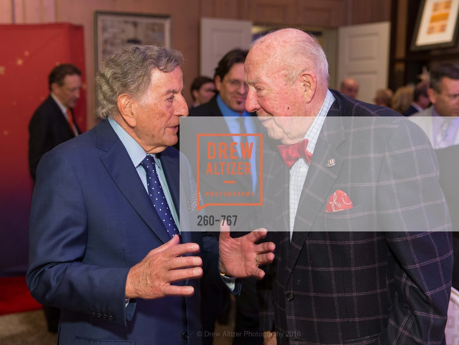 Tony Bennett, George Shultz, A Special Reception with Tony Bennett, The Fairmont, San Francisco, The Penthouse Suite, January 26th, 2016,Drew Altizer, Drew Altizer Photography, full-service agency, private events, San Francisco photographer, photographer california