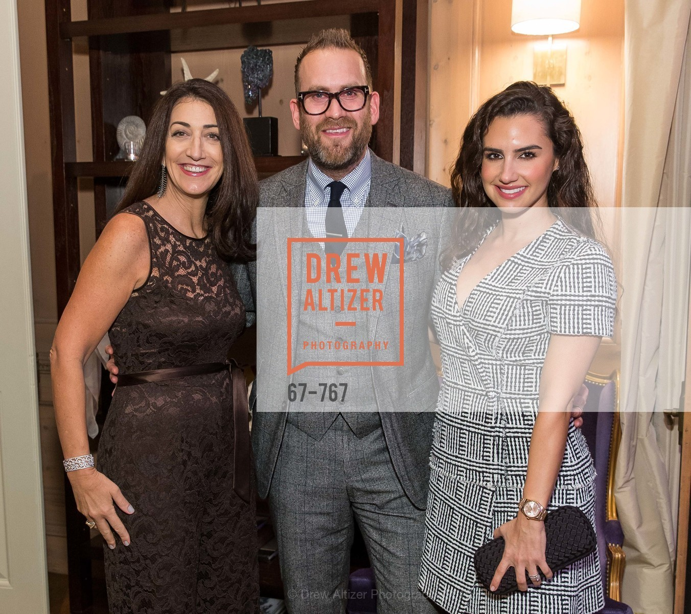 Pam Baer, Tyler Mitchell, Stephanie Mitchell, A Special Reception with Tony Bennett, The Fairmont, San Francisco, The Penthouse Suite, January 26th, 2016,Drew Altizer, Drew Altizer Photography, full-service agency, private events, San Francisco photographer, photographer california