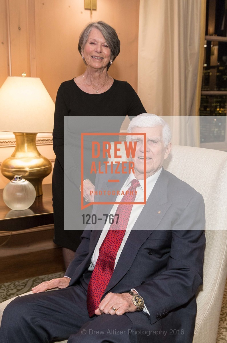 Mary Ann Crow, Dayl Crow, A Special Reception with Tony Bennett, The Fairmont, San Francisco, The Penthouse Suite, January 26th, 2016,Drew Altizer, Drew Altizer Photography, full-service agency, private events, San Francisco photographer, photographer california
