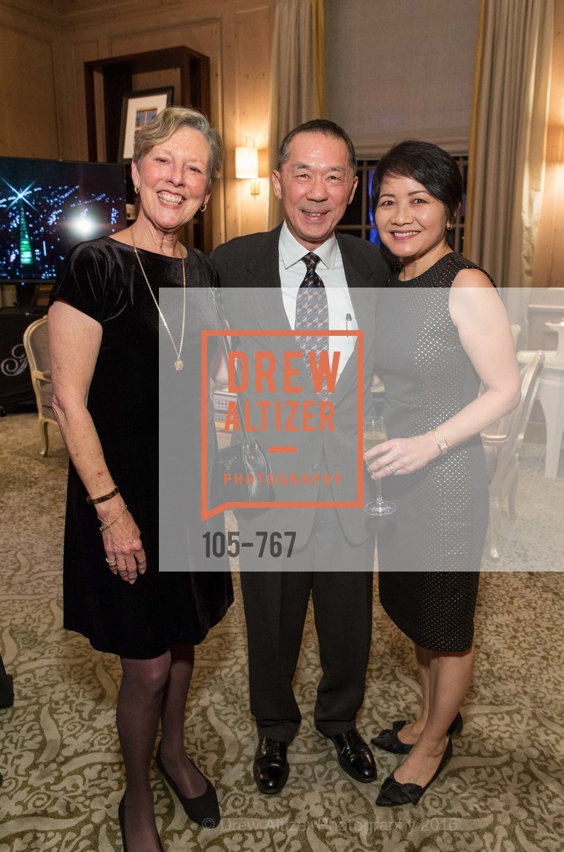 Linda Wolfe, Ed Soohoo, Terri Soohoo, A Special Reception with Tony Bennett, The Fairmont, San Francisco, The Penthouse Suite, January 26th, 2016,Drew Altizer, Drew Altizer Photography, full-service agency, private events, San Francisco photographer, photographer california
