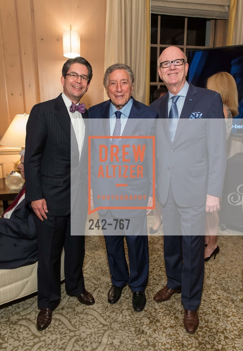 Gregory Cheng, Tony Bennett, Tom Horn, A Special Reception with Tony Bennett, The Fairmont, San Francisco, The Penthouse Suite, January 26th, 2016,Drew Altizer, Drew Altizer Photography, full-service agency, private events, San Francisco photographer, photographer california