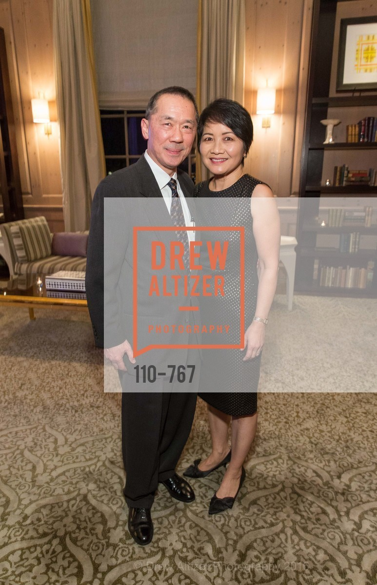 Ed Soohoo, Terri Soohoo, A Special Reception with Tony Bennett, The Fairmont, San Francisco, The Penthouse Suite, January 26th, 2016