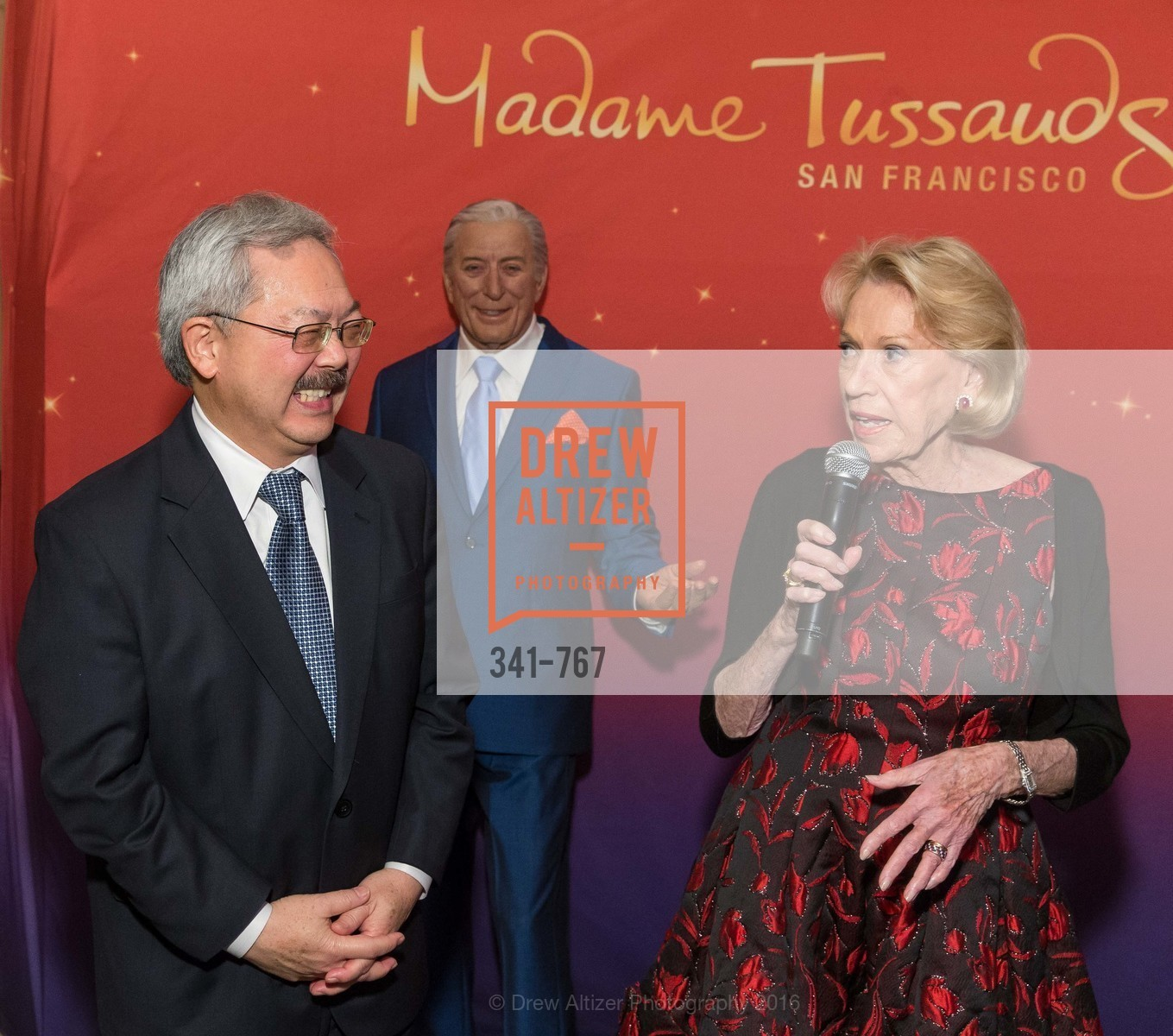 Ed Lee, Charlotte Shultz, A Special Reception with Tony Bennett, The Fairmont, San Francisco, The Penthouse Suite, January 26th, 2016,Drew Altizer, Drew Altizer Photography, full-service agency, private events, San Francisco photographer, photographer california