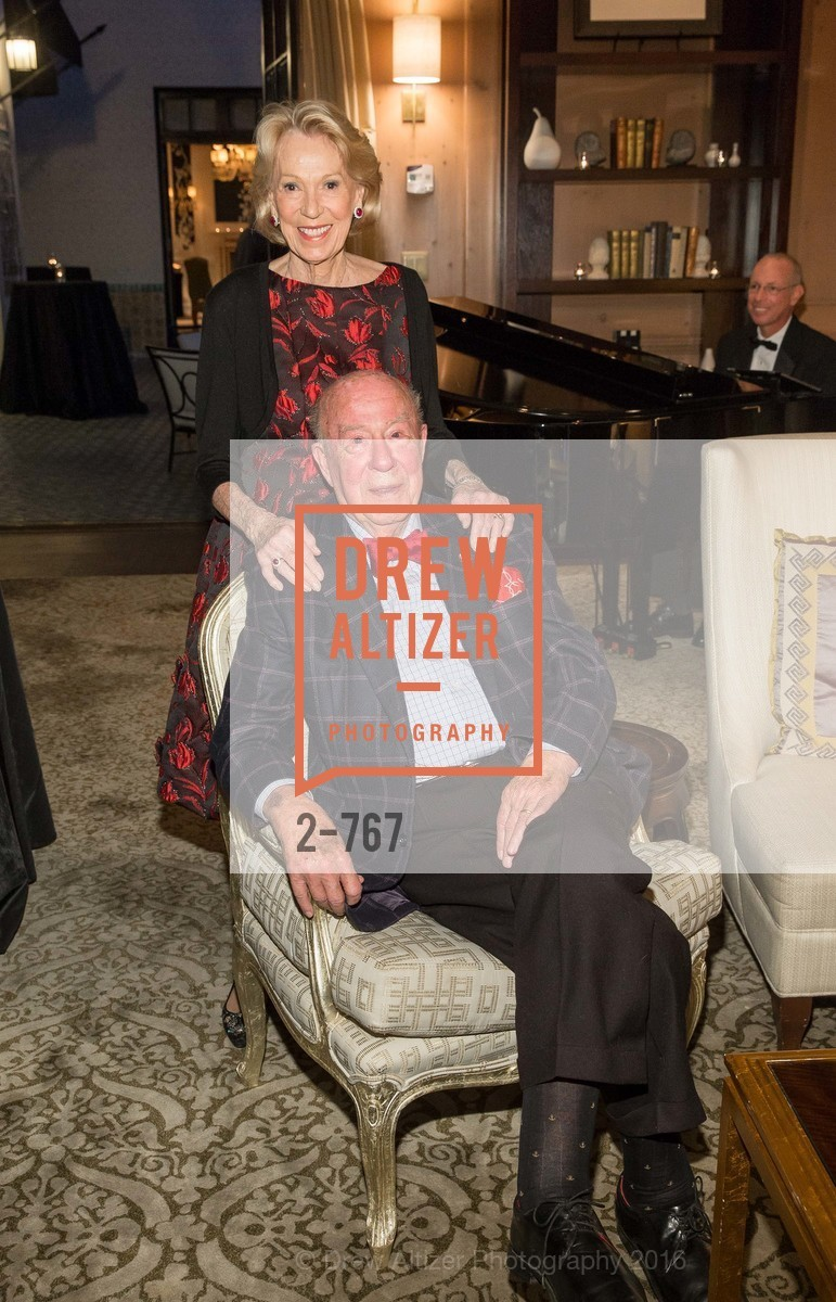 Charlotte Shultz, George Shultz, A Special Reception with Tony Bennett, The Fairmont, San Francisco, The Penthouse Suite, January 26th, 2016,Drew Altizer, Drew Altizer Photography, full-service agency, private events, San Francisco photographer, photographer california