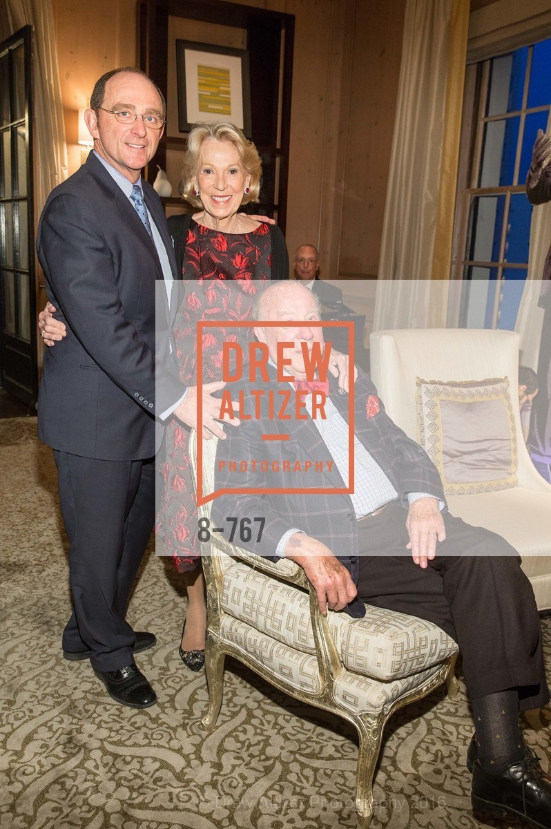 Tom Klein, Charlotte Shultz, George Shultz, A Special Reception with Tony Bennett, The Fairmont, San Francisco, The Penthouse Suite, January 26th, 2016,Drew Altizer, Drew Altizer Photography, full-service agency, private events, San Francisco photographer, photographer california