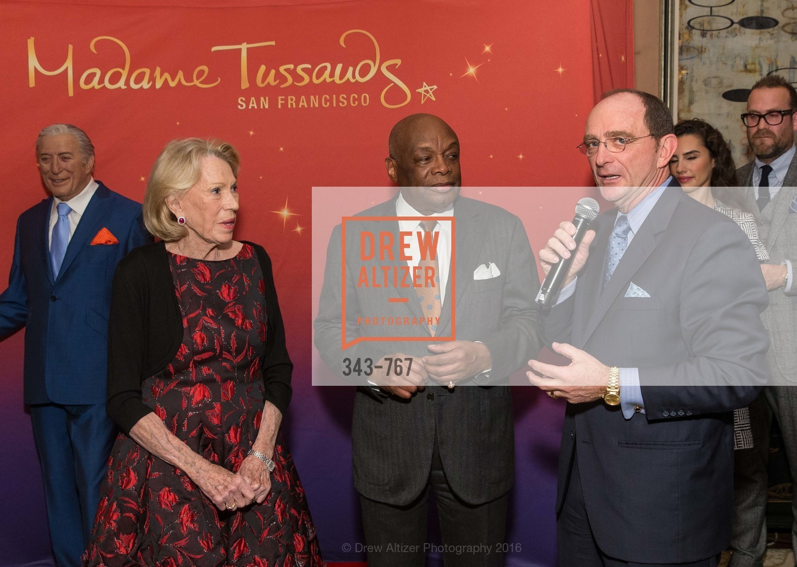 Charlotte Shultz, Willie Brown, Tom Klein, A Special Reception with Tony Bennett, The Fairmont, San Francisco, The Penthouse Suite, January 26th, 2016,Drew Altizer, Drew Altizer Photography, full-service agency, private events, San Francisco photographer, photographer california
