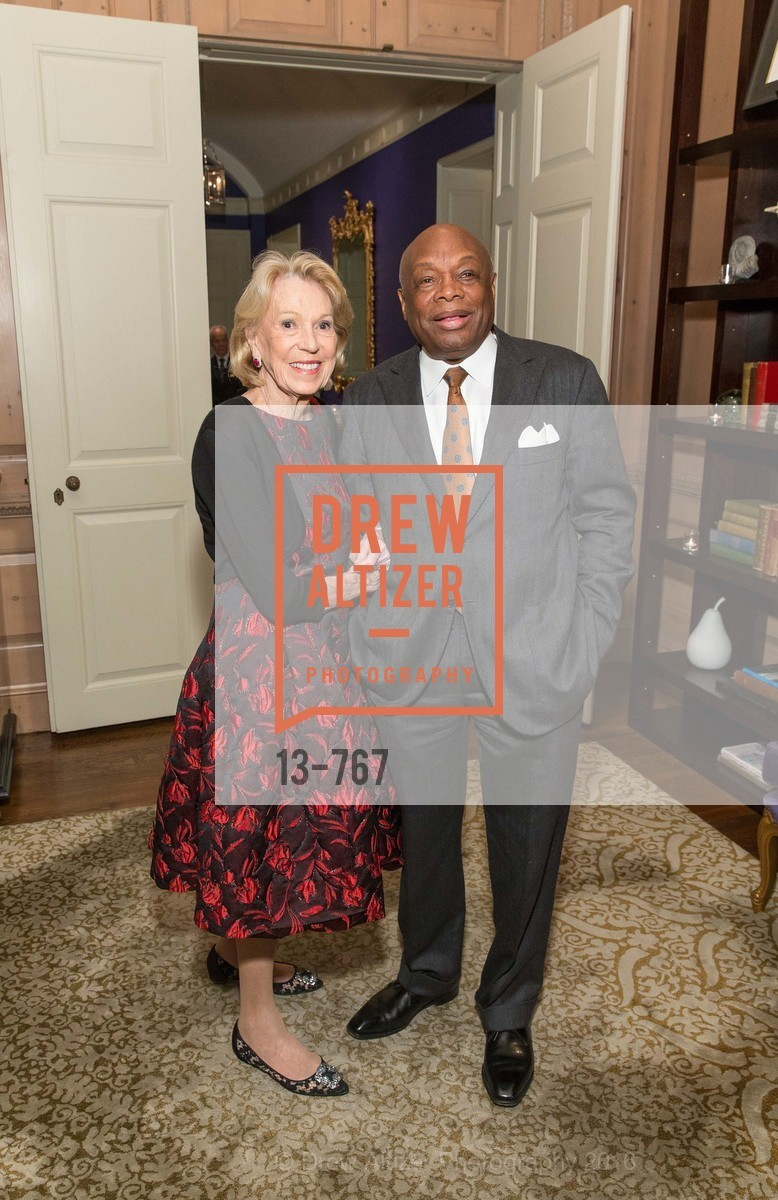 Charlotte Shultz, Willie Brown, A Special Reception with Tony Bennett, The Fairmont, San Francisco, The Penthouse Suite, January 26th, 2016,Drew Altizer, Drew Altizer Photography, full-service event agency, private events, San Francisco photographer, photographer California