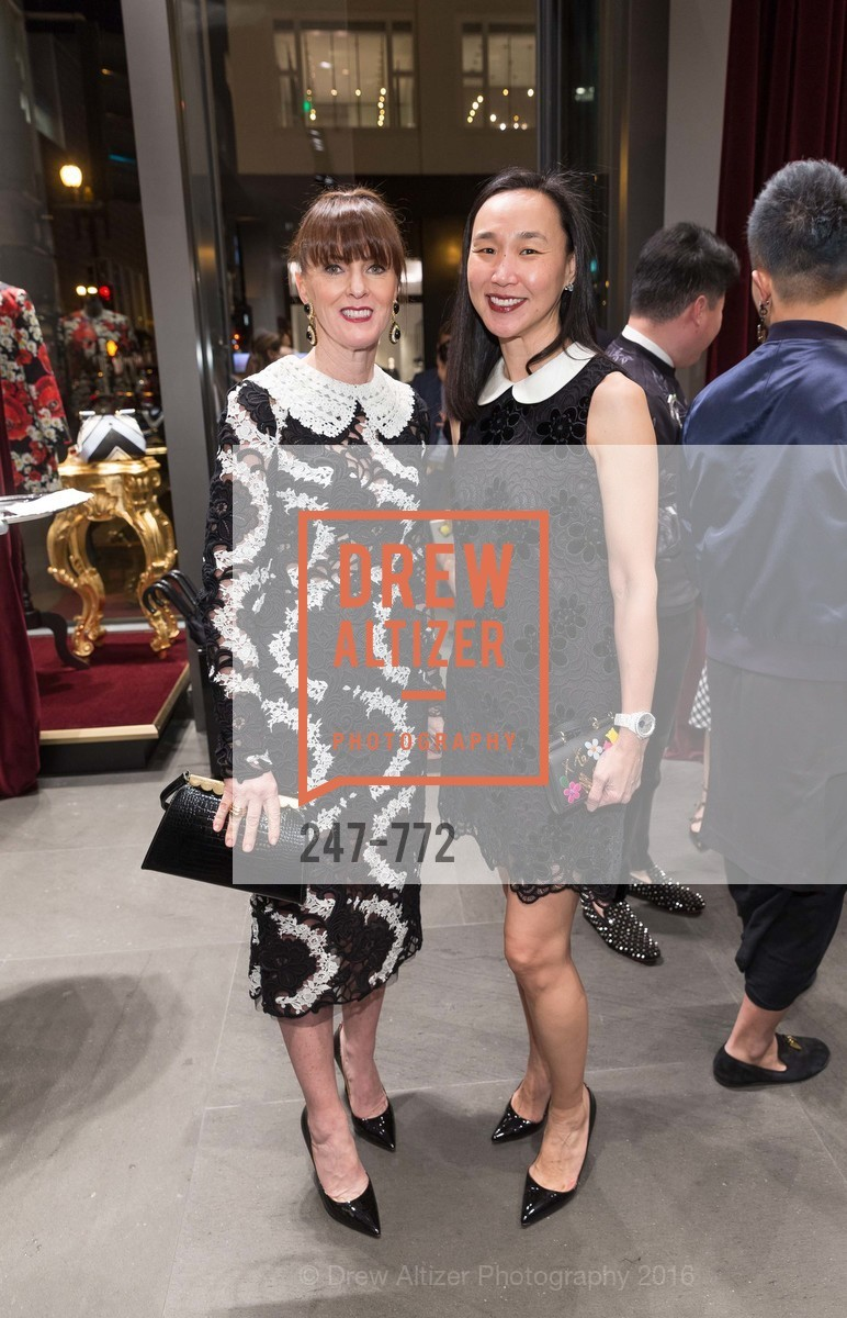 Allison Speer, Carolyn Chang, Dolce and Gabbana Boutique Opens Spring, Dolce and Gabbana Boutique, January 27th, 2016,Drew Altizer, Drew Altizer Photography, full-service agency, private events, San Francisco photographer, photographer california