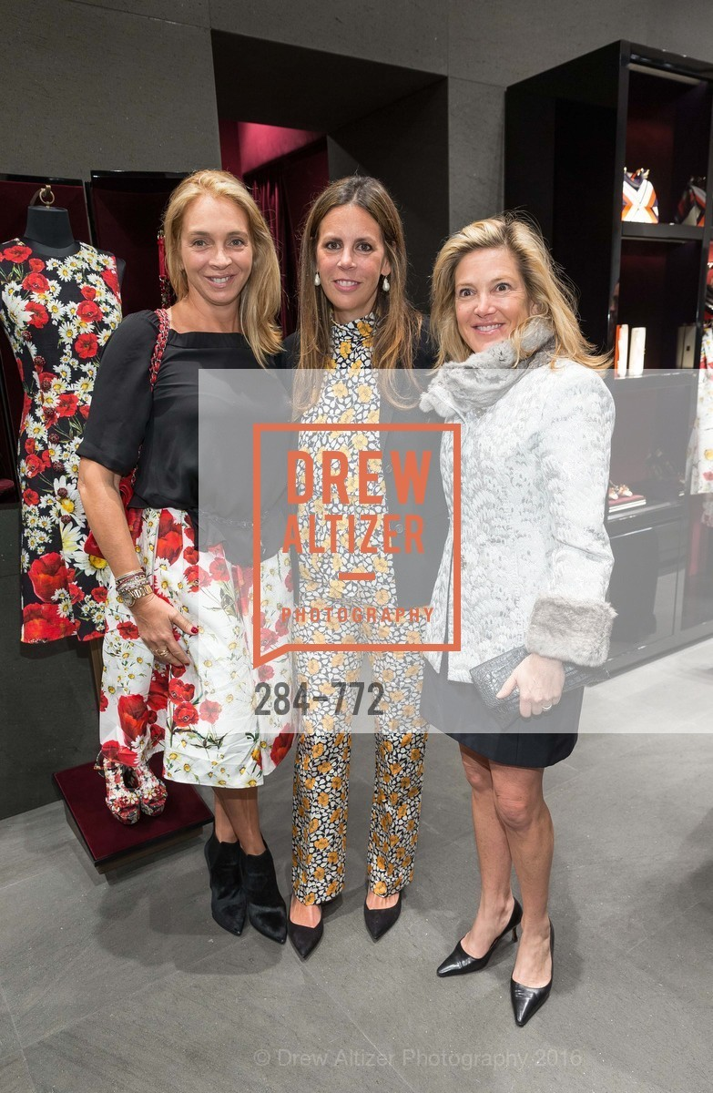 Victoire Reynal Brown, Anne Waterman, Kathryn Lasater, Dolce and Gabbana Boutique Opens Spring, Dolce and Gabbana Boutique, January 27th, 2016,Drew Altizer, Drew Altizer Photography, full-service agency, private events, San Francisco photographer, photographer california